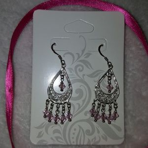 JCPenney's Silver Earrings